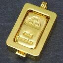 【最大3万円クーポン配布中】 【新品】日本マテリアル 24金 純金 インゴット 50g ペンダントトップ 枠脱着可能 ゴールドバー K24(50459)・・・