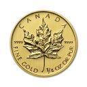 金貨 1/4oz ランダムイヤー メイプルリーフ金貨 1/4オンス 7.7g 純金(45074)