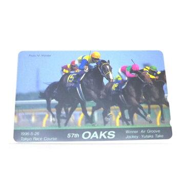 テレカ テレホンカード 57th OAKS 競馬 50度 未使用(42423)