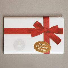 【茶道具 クリスマス】【茶道具 クリスマス】クリスマス懐紙 リース 一帖入り