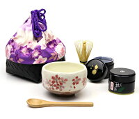 茶道具 抹茶 セット 持ち運び かごバッグ 6点セット ミニ かごバッグ、抹茶碗、茶筌、木のスプーン、小棗、抹茶がセットになったお得な6点セットです。ギフト 贈り物に