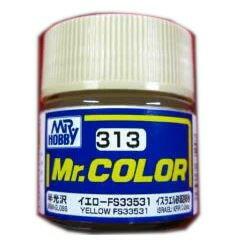 Mr.カラー (313)イエローFS33531 イスラエル砂漠迷彩色 半光沢 [油性塗料] GSIクレオス