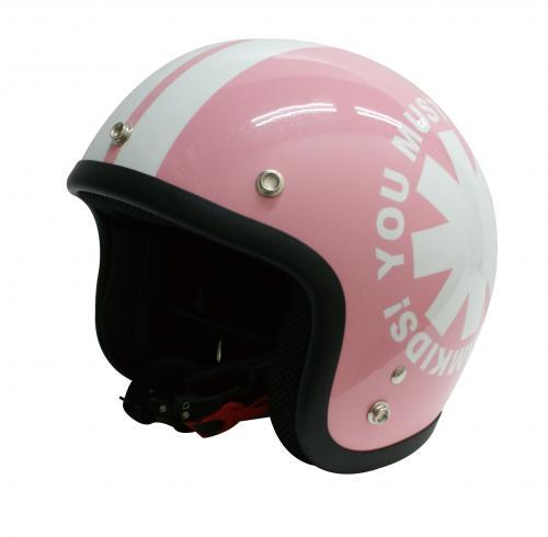 ジュニア用ヘルメット DAMMTRAX ダムトラックス  ポポウィールピンクバイク用キッズ子供用ヘルメットキッズヘルメット
