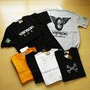 vansonバンソン半袖Tシャツ3デザイン、サイズM〜XL;P975-送料無料