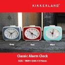 ClassicAlarmClockクラシックアラームクロック全3色KIKKERLANDキッカーランドDETAIL目覚し時計レトロ