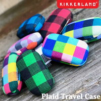 PlaidTravelCaseプレイドトラベルケース携帯用小物入れピルケースアクセサリーDETAILキッカーランド