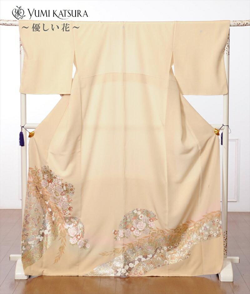 【レンタル】桂由美 色留袖レンタルフルセット8AB43 花の中で