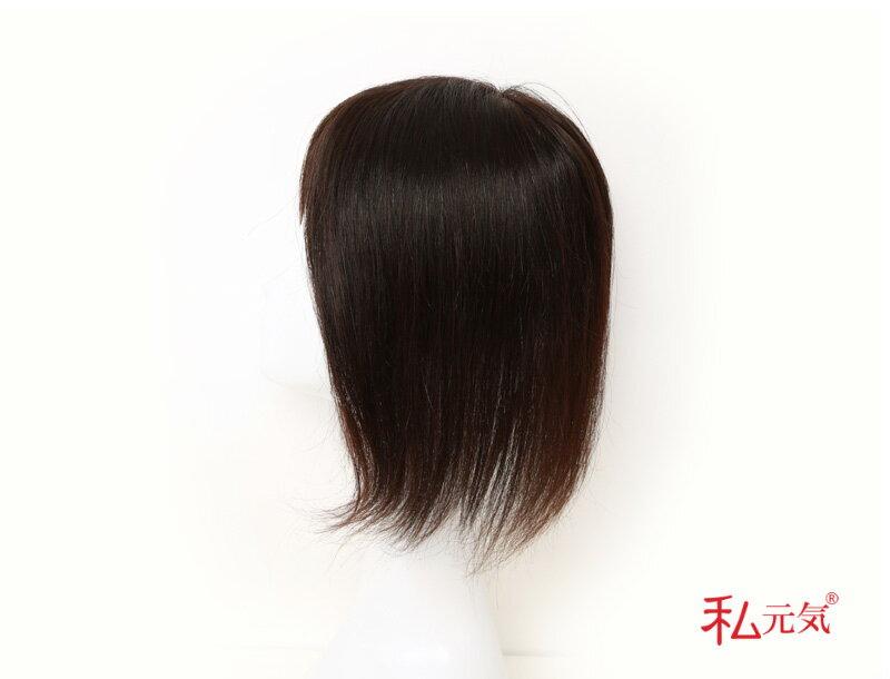 人毛100% 部分ウィッグ 人毛 ウィッグ かつら ポイントウィッグ 白髪かくし 総手植え 男性 女性 私元気 MBHAD131530
