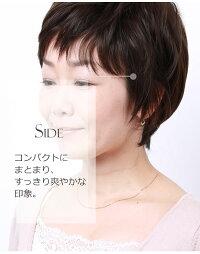 ウィッグショートのヘアスタイル詳細画像IU7162X-N4
