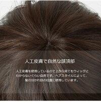 耐熱ウィッグの髪の素材説明画像IU7162X-N4