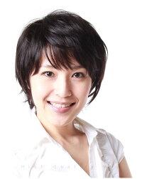 人毛かつらのモデル画像JH301001P-N2