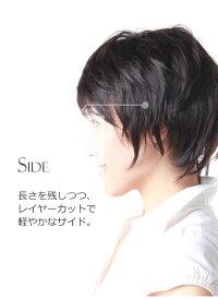 ウィッグショートのヘアスタイルのポイント画像JH301001P-N2
