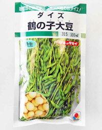 【メール便対応可能】野菜種大豆(ダイズ)鶴の子大豆100ml