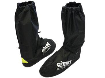 ナイロン製レインブーツカバー ブラック フルラバーソール Boots Cover Shoes Cover レディース キッズサイズ有