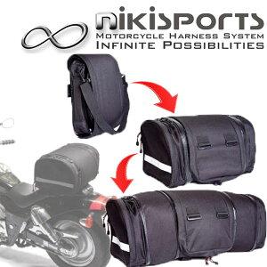 【nikisportsニキスポーツ】コンバーチブルダッフルバッグ