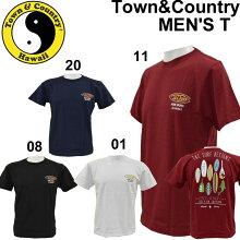 town&country/タウンアンドカントリーメンズ半袖TシャツDM1836【メール便も対応】