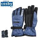 コスビー cosby スキーグローブ メンズ 手袋 CSM6...