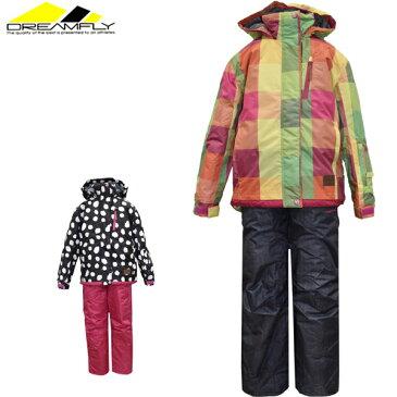 スキーウェア ジュニア ガールズ セール 130 140 150 160 ドリームフライ dreamfly スキーウエア上下 DF-GS0115SET【あす楽対応_北海道】