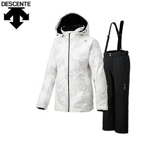デサント DESCENTE レディース スキーウェア 上下セット アウトレット 在庫一掃 DWWOJH83 あす楽対応_北海道