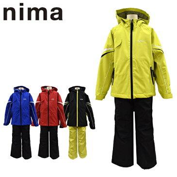 ニーマ nima スキーウェア キッズ ジュニア 雪遊び スノボ サイズ調整可能 JR-7004 あす楽対応_北海道