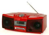 【中古】迅速発送+送料無料+動作保証!! SHARP シャープ SD-FX504-R レッド MD/CDシステム(CD/MDデッキ/ラジカセ形状タイプ)【@YA管理1-53-40501267】