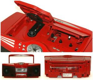 【】迅速発送+送料無料+動作保証!!SHARPシャープSD-FX504-RレッドMD/CDシステム(CD/MDデッキ/ラジカセ形状タイプ)【@YA管理1-53-40501267】