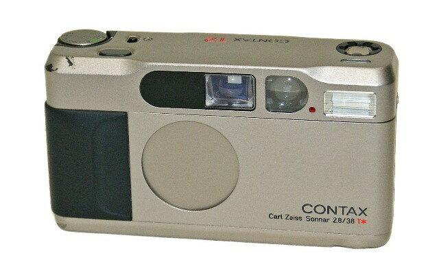フィルムカメラ, コンパクトフィルムカメラ !! CONTAX T2 Carl Zeiss Sonnar 2.838 T TE1-53-002805