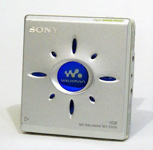 ポータブルオーディオプレーヤー, ポータブルMDプレーヤー !!1 SONY MZ-E500-S MD MD YA1-53R-240250
