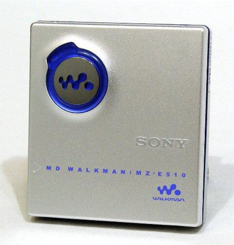 ポータブルオーディオプレーヤー, ポータブルMDプレーヤー !! SONY MZ-E510-S MD MDLPMDMDYA1-53R-B151503