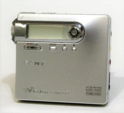 ポータブルオーディオプレーヤー, ポータブルMDプレーヤー !! SONY MZ-N10-S MDNet MDYA1-53R-E288620