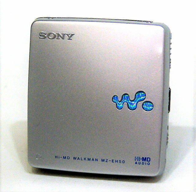 ポータブルオーディオプレーヤー, ポータブルMDプレーヤー !! SONY MZ-EH50(S) MD MDLPHi-MDMDMDYA1-53R-5233614