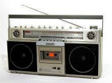 【中古】迅速発送+送料無料+動作保証!!SONYソニーCFS-V3FM/AMステレオラジオカセットSTEREOZILBA'PMX【@YA管理1-53-78973】