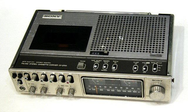 オーディオ, ラジカセ !! SONY CF-2700 FMAM YA1-53R-56146