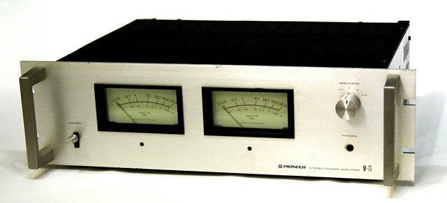 アンプ, パワーアンプ !! PIONEER M-73 YA1-53-WJ1002525