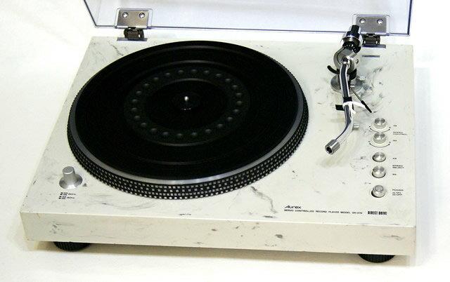 コンポ用拡張ユニット, レコードプレーヤー !!Aurex TOSHIBA SR-370 YA1-53-C184