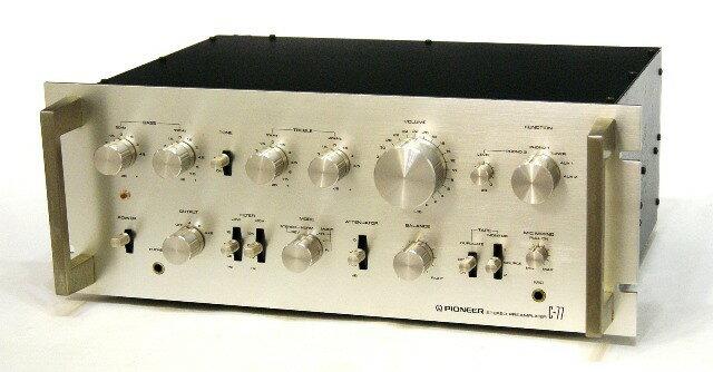 アンプ, プリアンプ !! PIONEER C-77 YA1-53-VK1000312