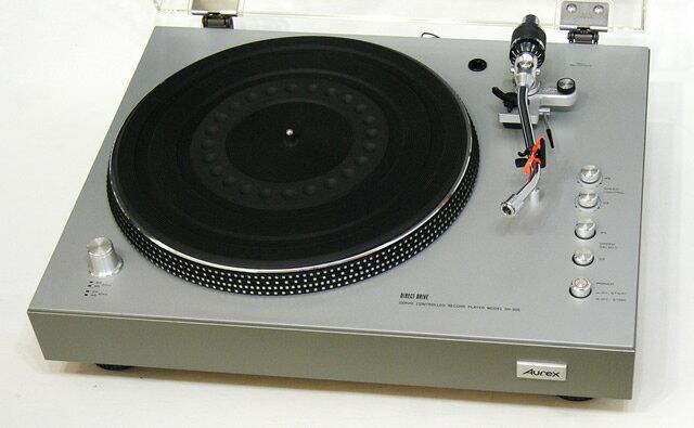 コンポ用拡張ユニット, レコードプレーヤー !!TOSHIBA Aurex SR-355D S YA1-53-C-840
