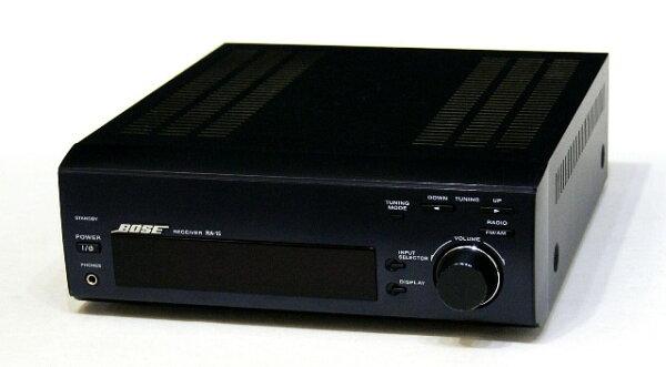 中古 迅速++動作保証BOSEボーズRA-15アメリカンサウンドシステムステレオレシーバー(チューナーアンプ)専用リモコン付