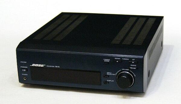 中古 迅速++動作保証BOSEボーズRA-15アメリカンサウンドシステムステレオレシーバー(チューナーアンプ)リモコン欠品 @