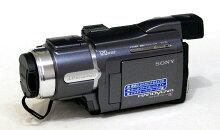 【中古】迅速発送+送料無料+動作保証!!SONYソニーDCR-HC88(メタリックグレー)デジタルビデオカメラレコーダーハンディカムミニDVナイトショット機能【@YA管理1-53-1020468】