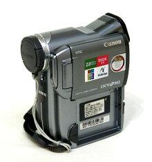 【中古】迅速発送+送料無料+動作保証!!CanonキャノンDM-IXYDVM2KITデジタルビデオカメラミニDV専用リモコン付【@YA管理1-53-221700206760】