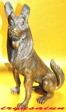 銅製 犬像 開運 風水十二支 犬 戌 新品Feng shui dog開運風水置物 威龍彩雲通販