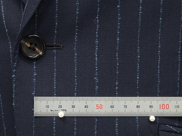 春夏物 紺/ネップ縞 [ロロピアーナ] ZELANDER使用 [A体][AB体] スタイリッシュスーツ LOS74