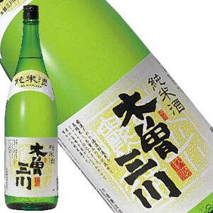 純米 木曽三川 1.8L【愛知県/内藤醸造(株)】