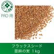 亜麻の実(フラックスシード )ホール 1kg アマ科  あまの実 ドライハーブ 種 たね シード アイピロー 亜麻仁