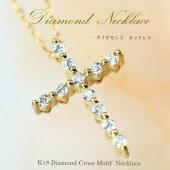 ダイヤモンドラインネックレス0.15ct