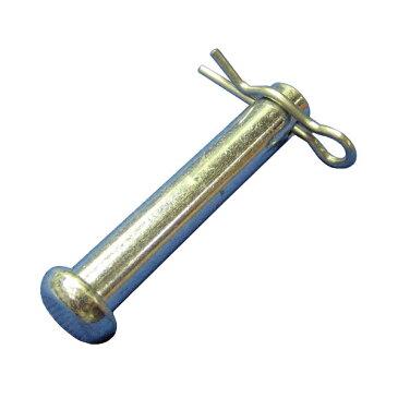 止めピンRピン(松葉ピン,スナップピン)付セット9×51(500個セット)。建枠足場の連結用です。(A-20用)補修部品。建設・建築・仮設機材の補修部品(メンテナンス部品)