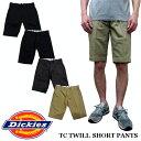 Dickies ディッキーズ TCツイル ショートパンツ ハーフパンツ182m40wd17