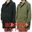 HOUSTON M-51パーカ モッズコート 5409M ヒューストン U.S.ARMY PARKA