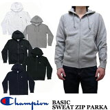 Champion ベーシック スウェット ジップアップ パーカー 全4色 C3-C119 チャンピオン